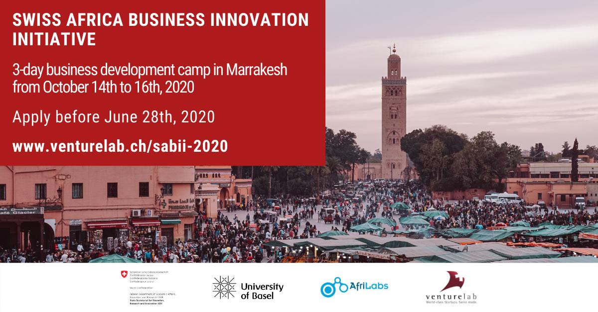 Invitation Card SABII Africa Marrakesh 2020
